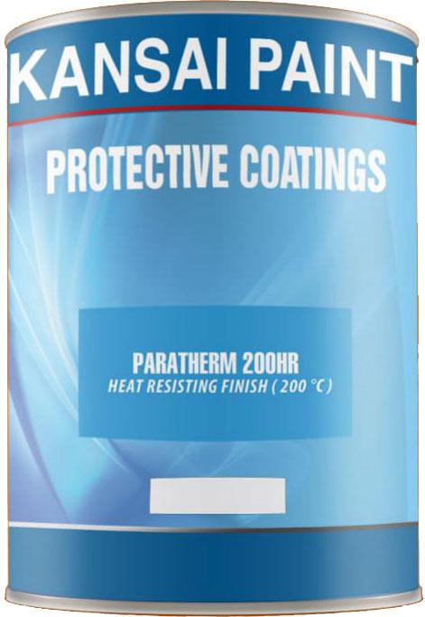 Sơn Kansai Sơn chịu nhiệt sơn phủ epoxy Paratherm 200HR