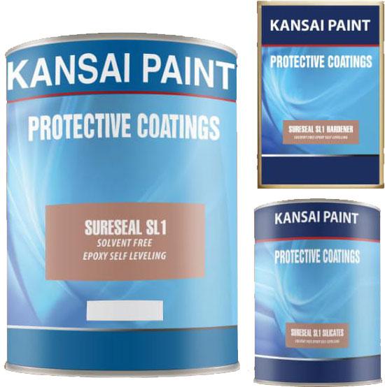 Sơn Kansai sơn phủ epoxy Sureseal SL1